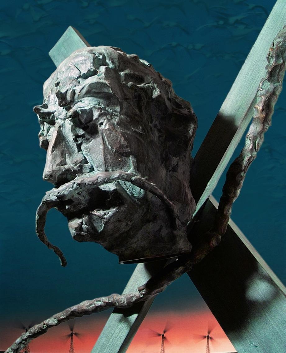 Сальвадору Дали.Бронза.Высота-300см. Валенсия, Испания Salvador Dali. Bronze. Height 300 cm. Valencia, Spain