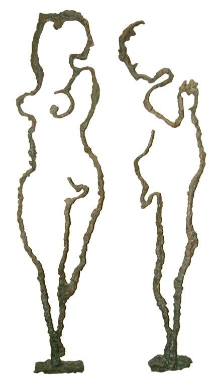 Adam and Eve. Bronze. h — 180sm.2007